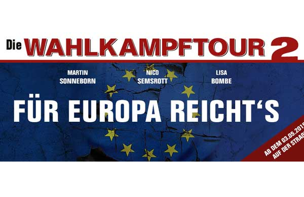 Die PARTEI lädt ein ins LUNA Kiel zur Wahlkampftour