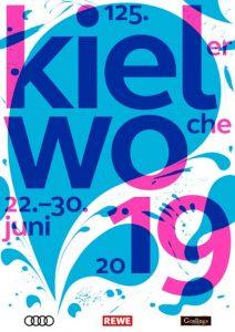 Grafik: Kieler-Woche-Plakat 2019 (Presse)