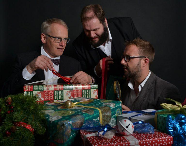 Kiel: Studentenwerk SH lädt zur weihnachtlichen Live-Hörspielshow mit den 3 Herren