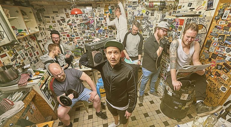 Tequila & the Sunrise Gang, zu Weihnachten live in der Pumpe in Kiel