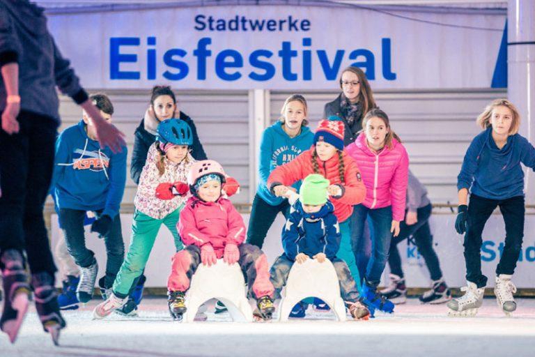 Der Winter naht und damit auch das Kieler Stadtwerke Eisfestival