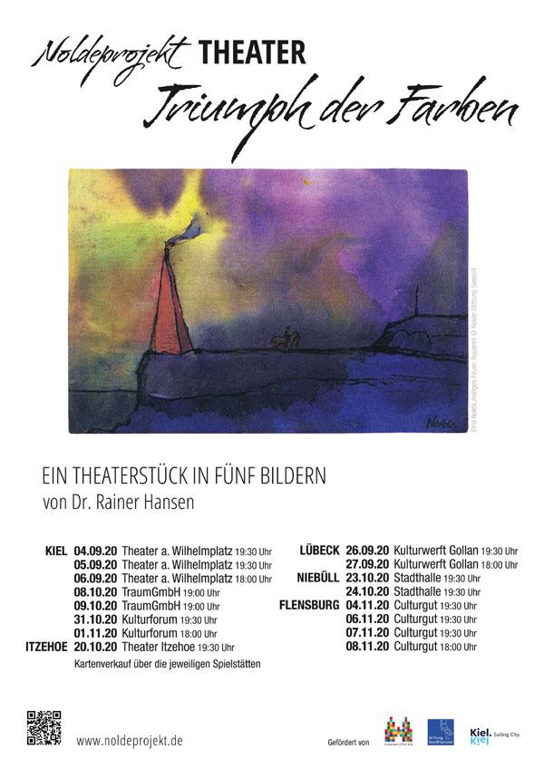EMIL NOLDE – TRIUMPH DER FARBEN – Ein Theaterstück in fünf Bildern