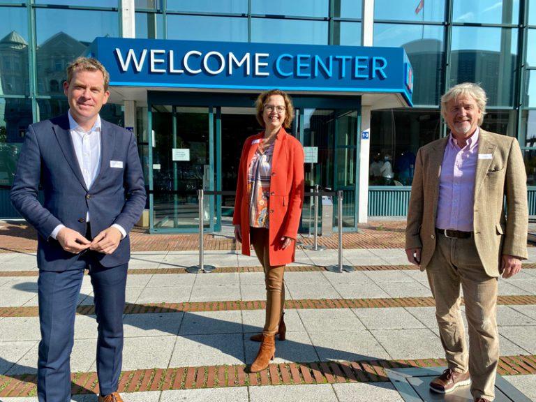 Große Eröffnung des neuen Welcome Center Kieler Förde